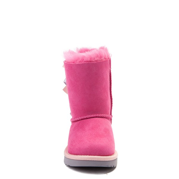 alternate view UGG® Bailey Bow II Boot - Toddler / Little Kid - PinkALT4