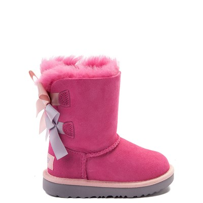Main view of UGG® Bailey Bow II Boot - Toddler / Little Kid - Pink
