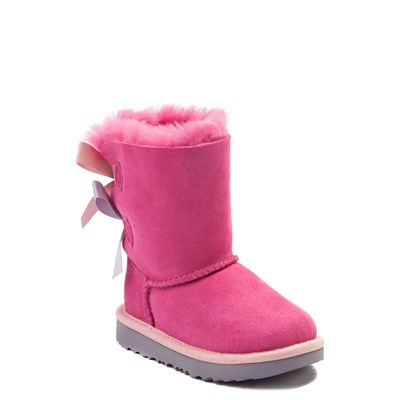 Alternate view of UGG® Bailey Bow II Boot - Toddler / Little Kid - Pink