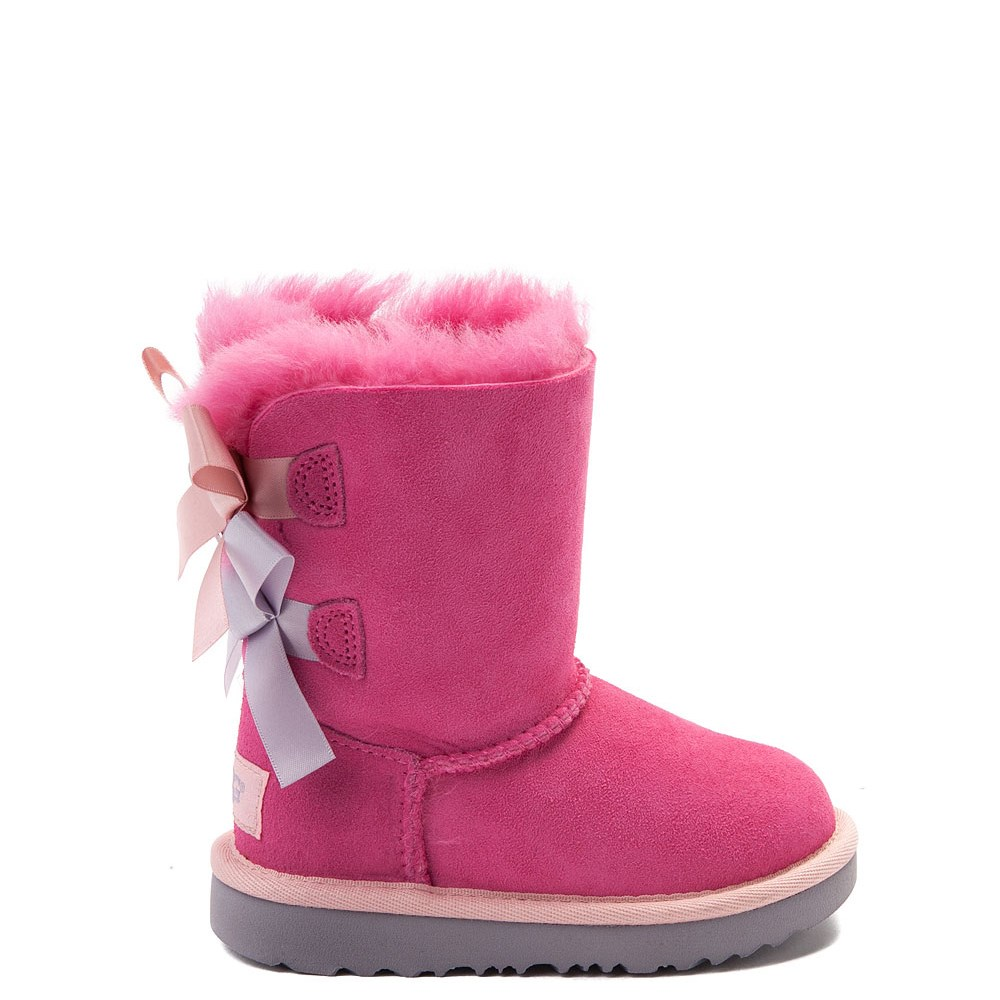 UGG® Bailey Bow II Boot - Toddler / Little Kid - Pink