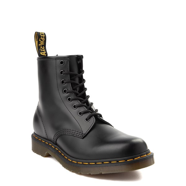 alternate view Dr. Martens 1460 8-Eye Smooth Boot - BlackALT1