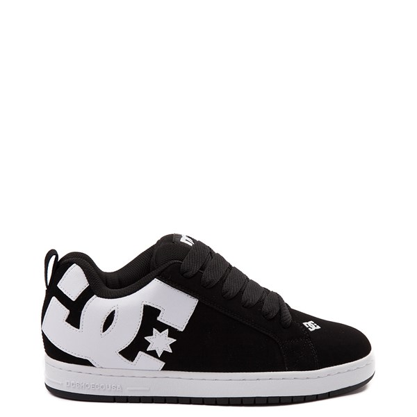 Mens DC Court Graffik Skate Shoe - Black