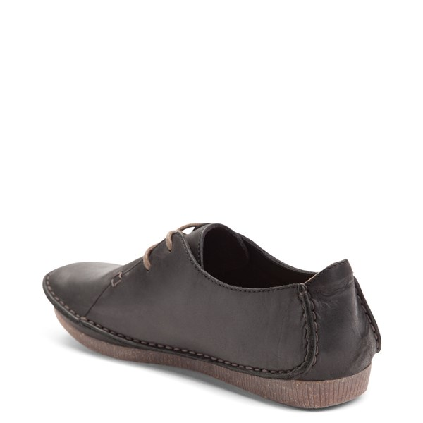 alternate view Womens Clarks Janey Mae Casual Shoe - BlackALT2