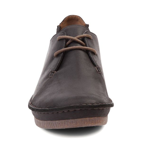 alternate view Womens Clarks Janey Mae Casual Shoe - BlackALT4