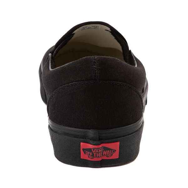 alternate view Vans Slip On Skate Shoe - Black MonochromeALT4