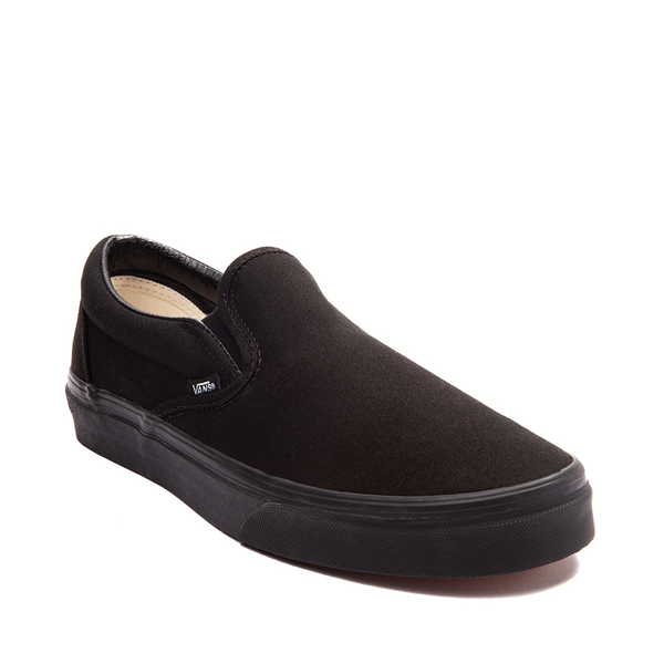 alternate view Vans Slip On Skate Shoe - Black MonochromeALT5