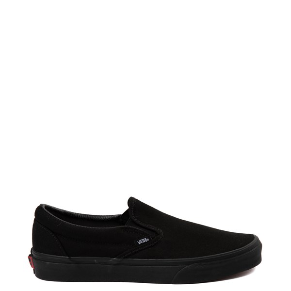 Default view of Vans Slip On Skate Shoe - Black Monochrome