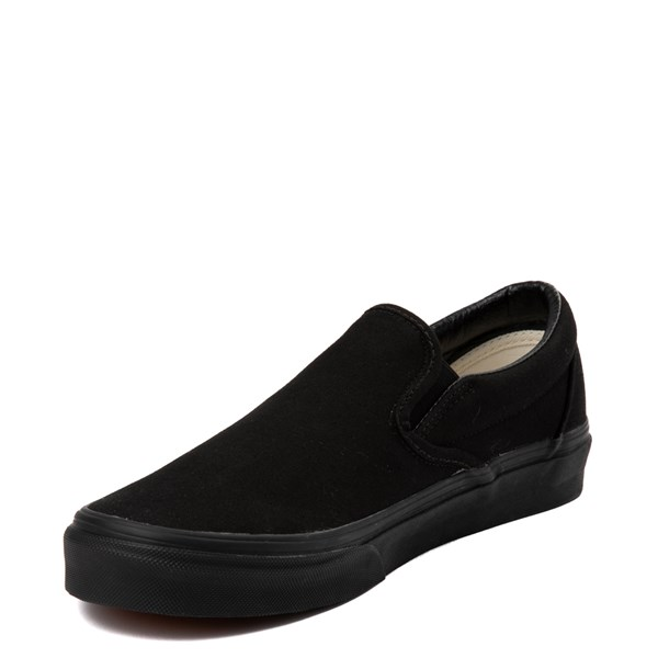 alternate view Vans Slip On Skate Shoe - Black MonochromeALT2