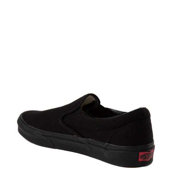 alternate view Vans Slip On Skate Shoe - Black MonochromeALT3