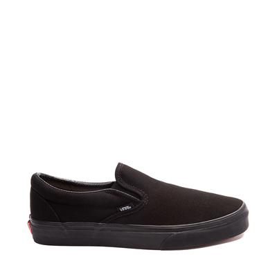 Main view of Vans Slip On Skate Shoe - Black Monochrome