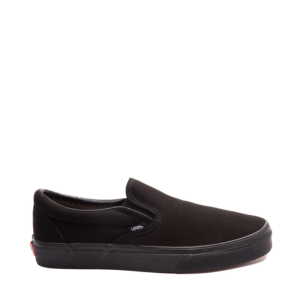 ampiamente Canna testo  Vans Slip On Skate Shoe - Black Monochrome | Journeys