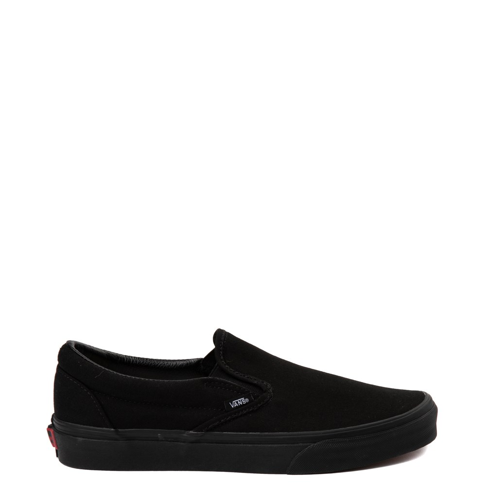 Vans Slip On Skate Shoe , Black Monochrome