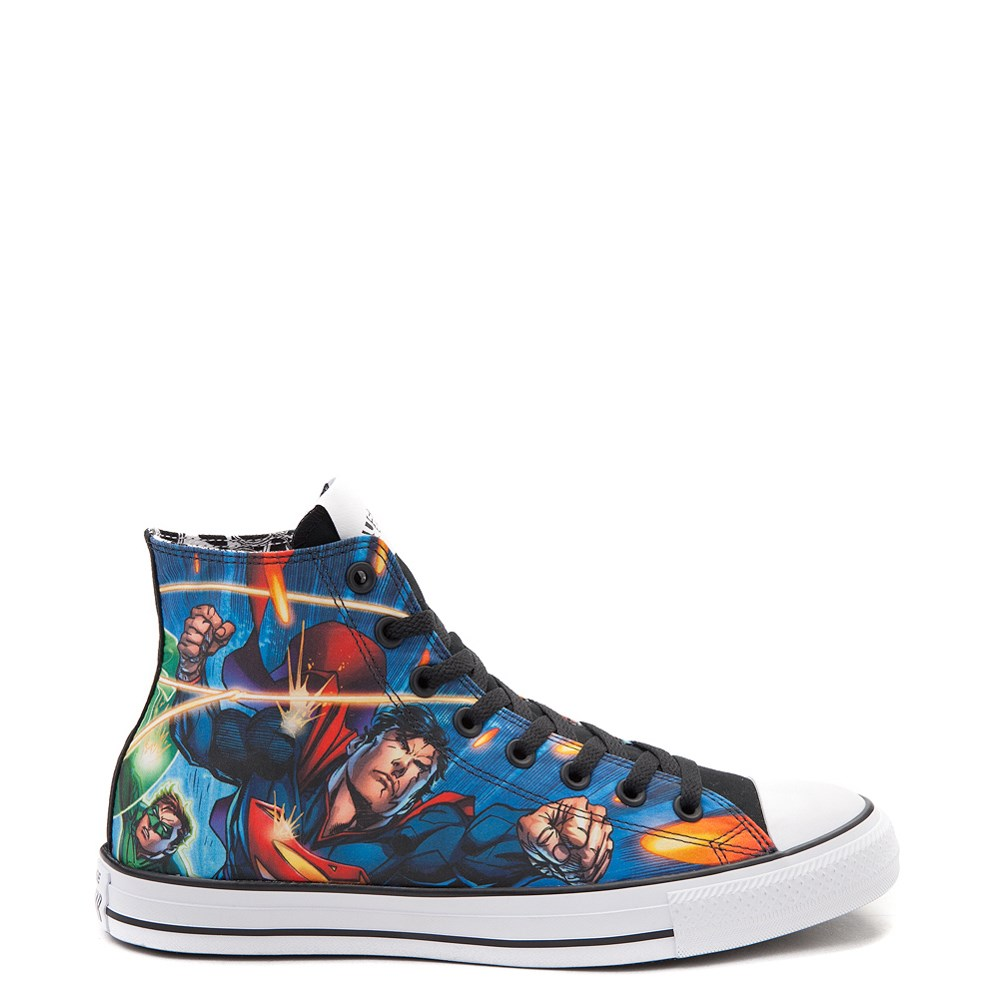 d410926f009 Converse Chuck Taylor All Star Hi DC Comics Justice League Sneaker ...