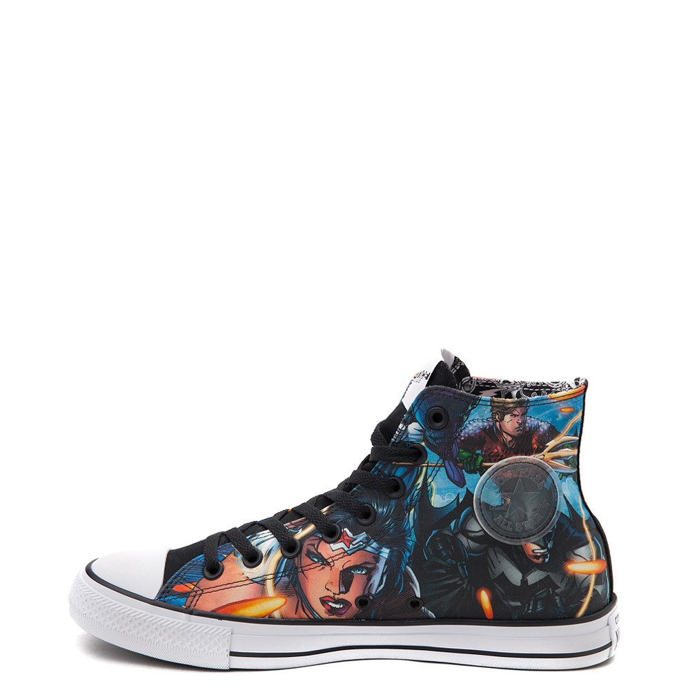 Converse Chuck Taylor All Star Hi DC Comics Justice League Sneaker.  Previous. alternate image ALT5. alternate image default view. alternate  image ALT1 9c2a1981e