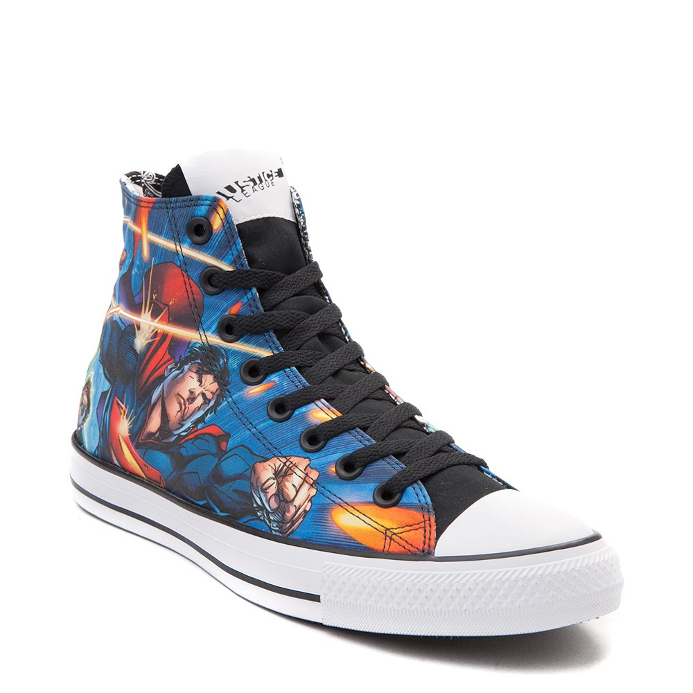 8e659757e381 Converse Chuck Taylor All Star Hi DC Comics Justice League Sneaker ...