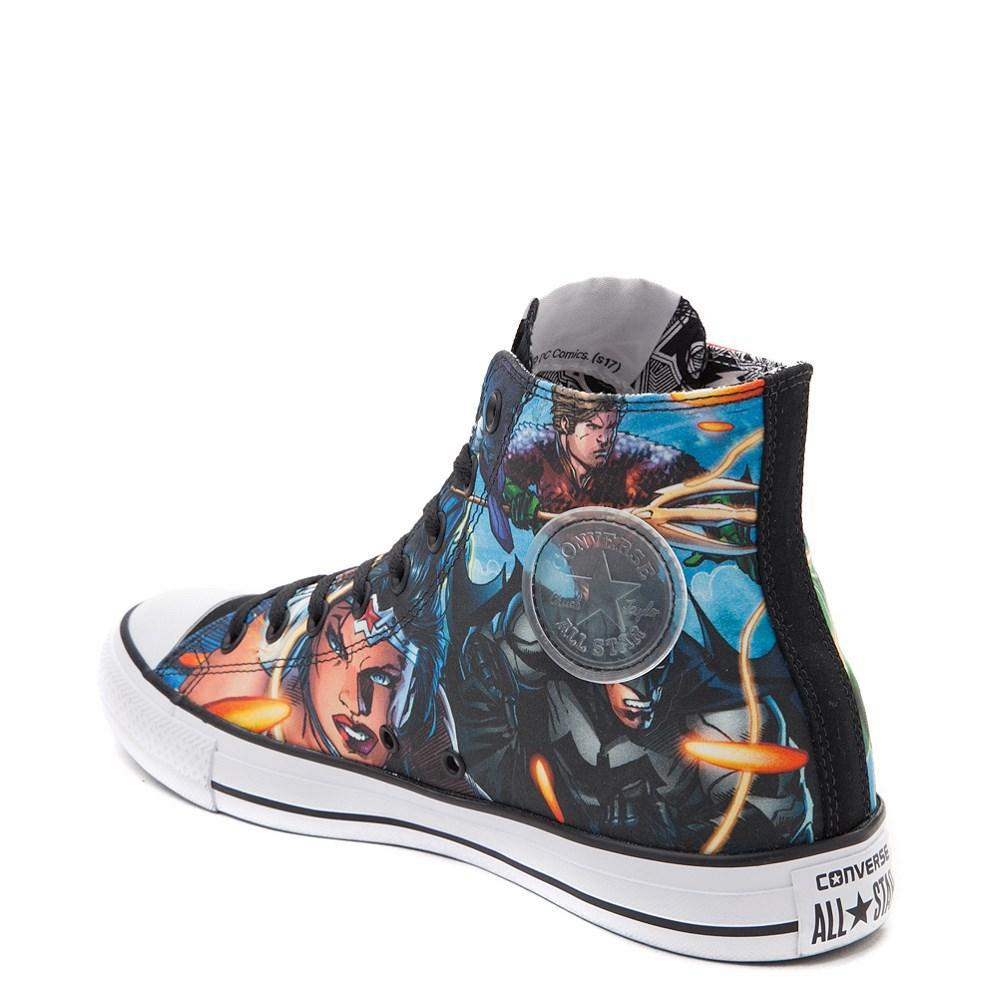 38c77f43afc9da Converse Chuck Taylor All Star Hi DC Comics Justice League Sneaker.  alternate image default view alternate image ALT1 alternate image ALT1B  alternate image ...