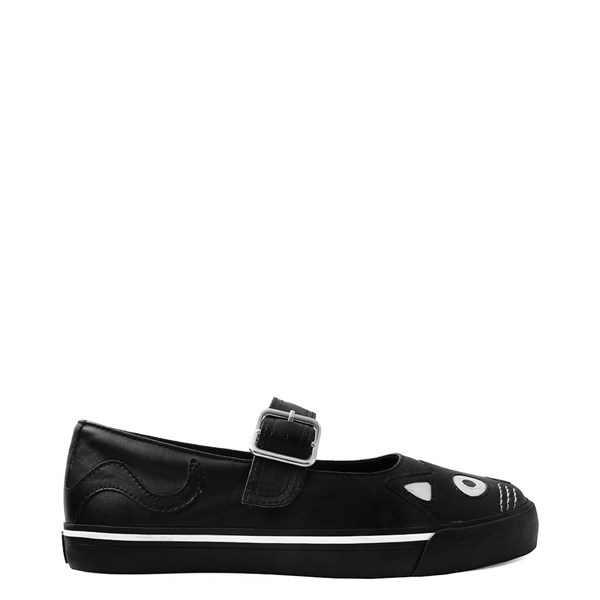 Womens T.U.K. Kitty Mary Jane Casual Shoe - Black