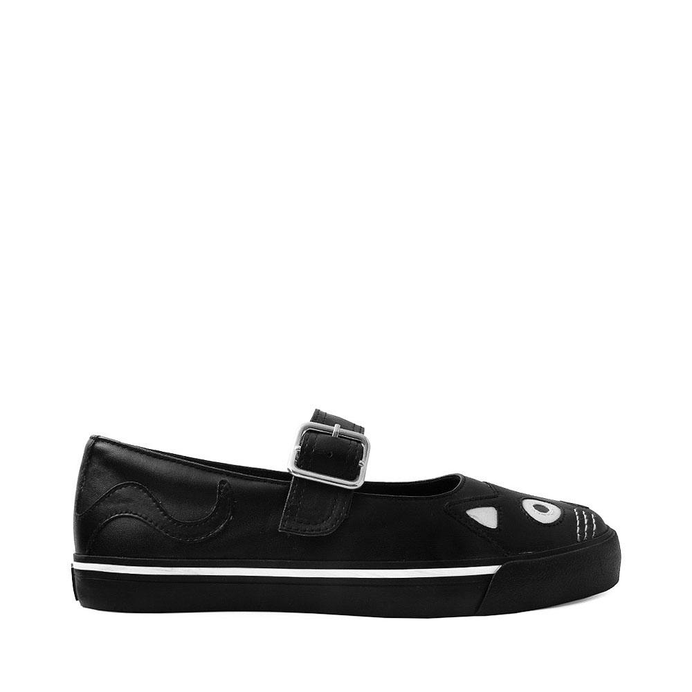 Womens T.U.K. Kitty Mary Jane Casual Shoe - Black