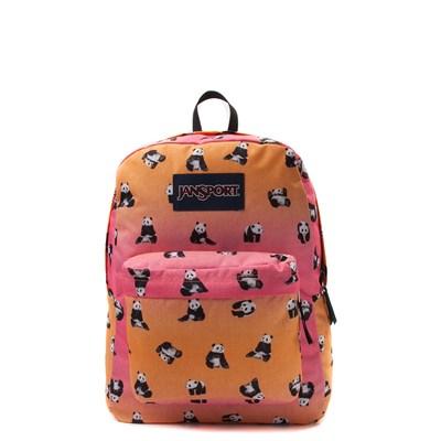 Main view of JanSport Superbreak Panda Bears Backpack
