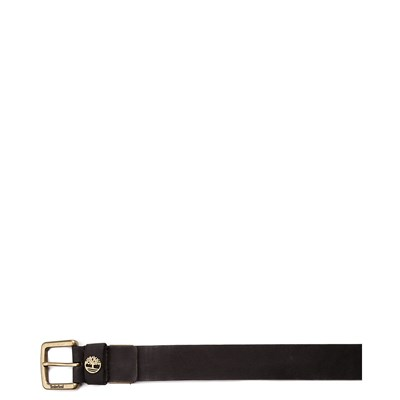 Alternate view of Timberland Logo Leather Belt - Black