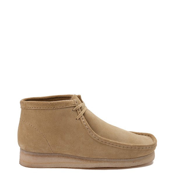 Mens Clarks Originals Wallabee Chukka Boot - Sand