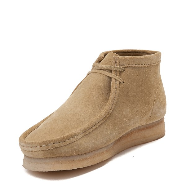 alternate view Mens Clarks Originals Wallabee Chukka Boot - SandALT3