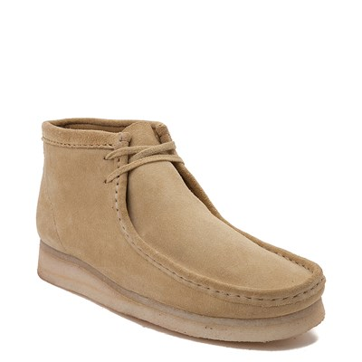 Alternate view of Mens Clarks Originals Wallabee Chukka Boot - Sand