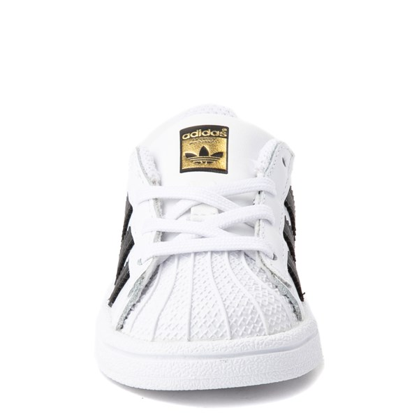alternate view adidas Superstar Athletic Shoe - Baby / ToddlerALT4