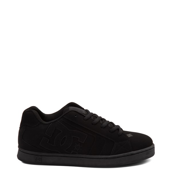 Mens DC Net Skate Shoe - Black Monochrome