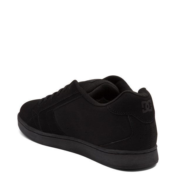 alternate view Mens DC Net Skate Shoe - Black MonochromeALT2