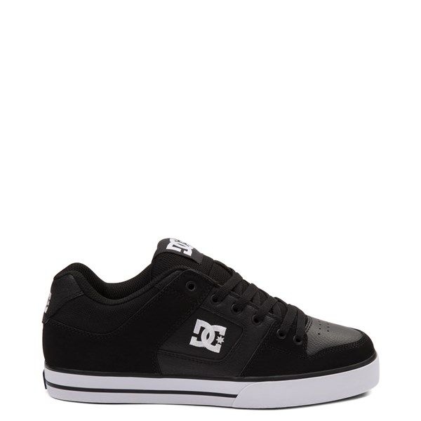 Main view of Mens DC Pure Skate Shoe - Black / White