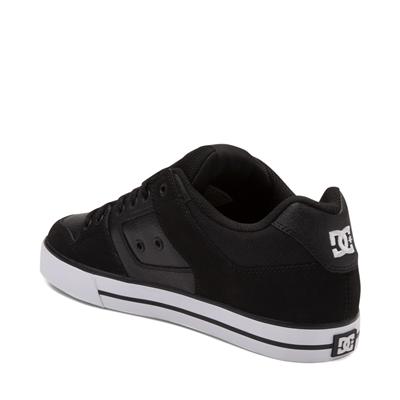 Alternate view of Mens DC Pure Skate Shoe - Black / White