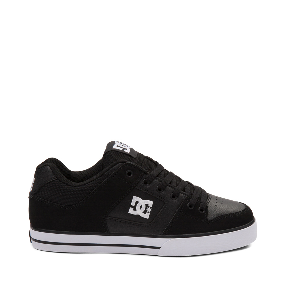 Mens DC Pure Skate Shoe - Black / White