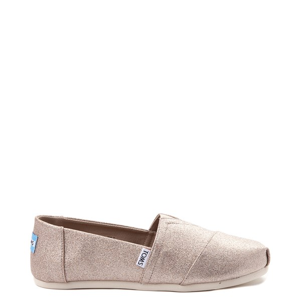 Womens TOMS Classic Glimmer Slip On Casual Shoe