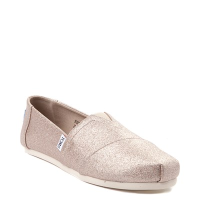 Alternate view of Womens TOMS Classic Glimmer Slip On Casual Shoe