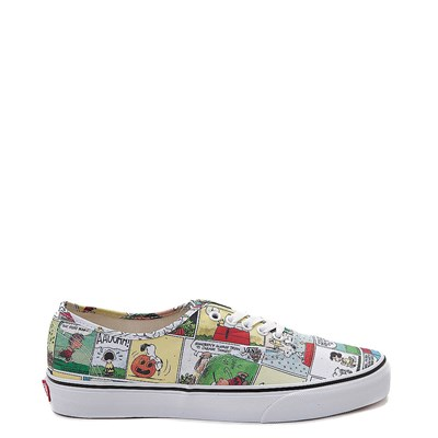 Main view of Vans Authentic Peanuts Comic Strip Skate Shoe