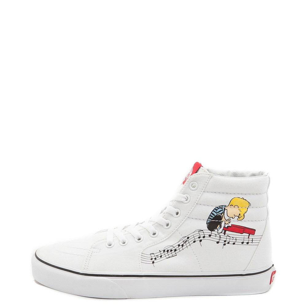 7ab043a8358 Vans Sk8 Hi Peanuts Lucy Schroeder Skate Shoe