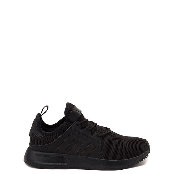 adidas X_PLR Athletic Shoe - Little Kid - Black Monochrome