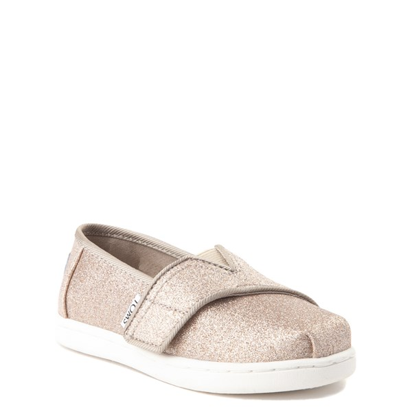 alternate view TOMS Classic Glimmer Slip On Casual Shoe - Baby / Toddler / Little KidALT1
