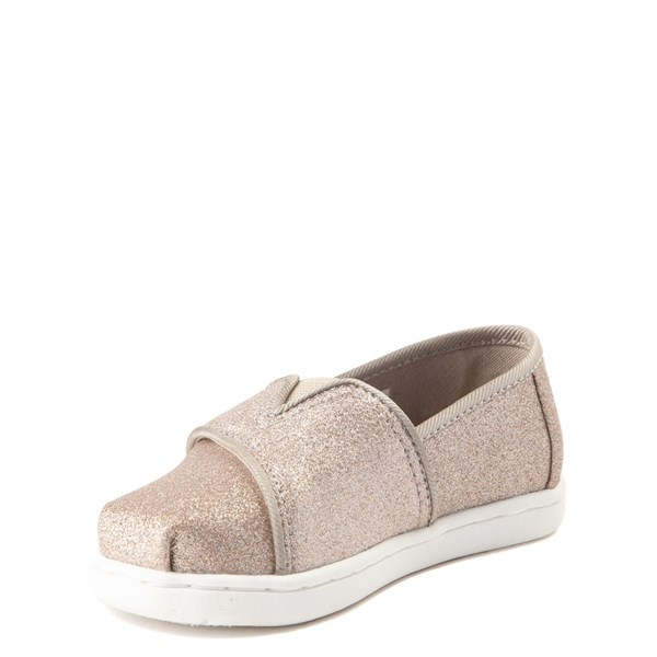 alternate view TOMS Classic Glimmer Slip On Casual Shoe - Baby / Toddler / Little KidALT3