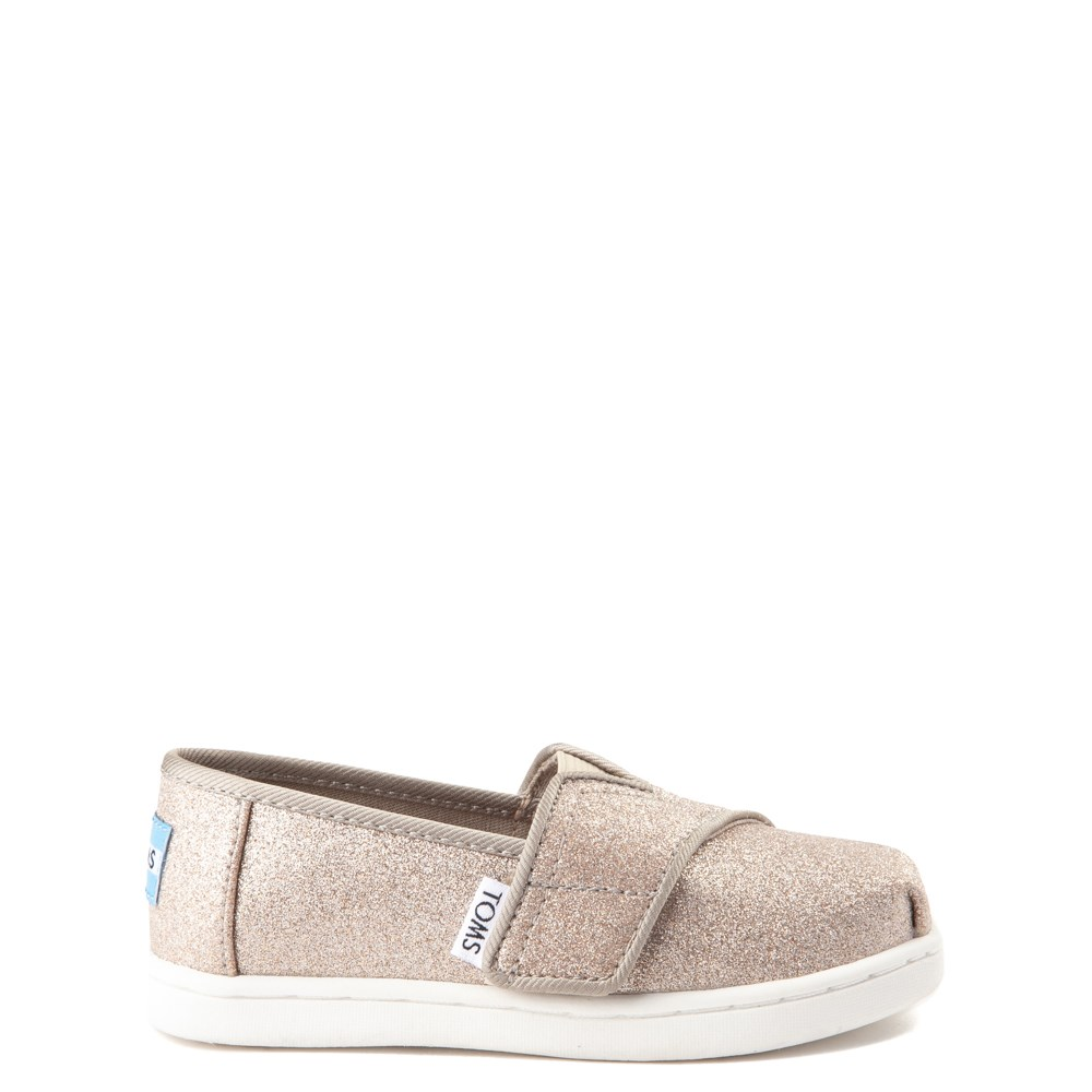 TOMS Classic Glimmer Slip On Casual Shoe - Baby / Toddler / Little Kid
