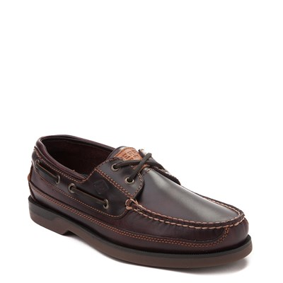 Alternate view of Mens Sperry Top-Sider Mako Boat Shoe - Brown