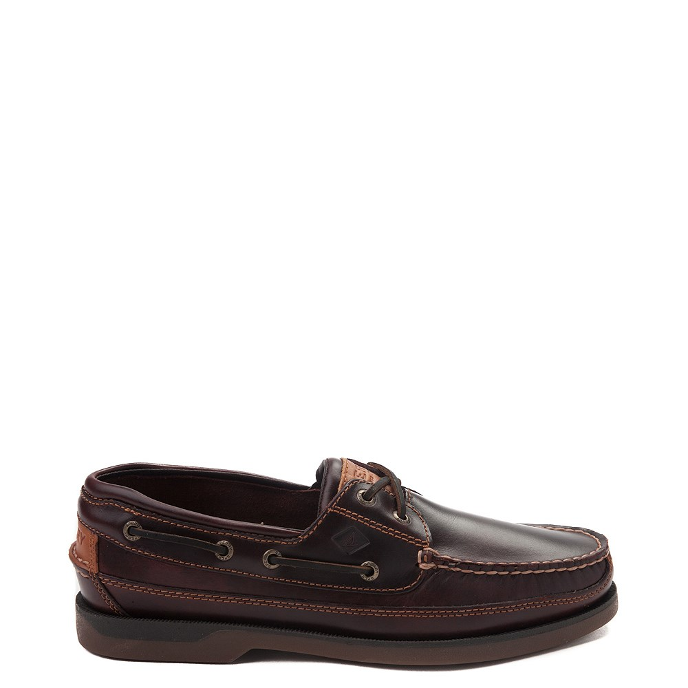 Mens Sperry Top-Sider Mako Boat Shoe - Brown