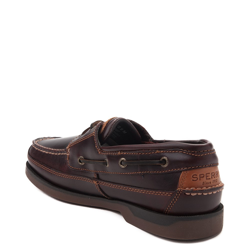 beauty detailed images new specials Mens Sperry Top-Sider Mako Boat Shoe - Brown | Journeys