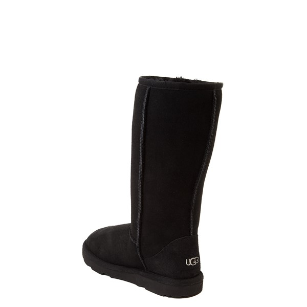 alternate view UGG® Classic Tall II Boot - Little Kid / Big Kid - BlackALT1