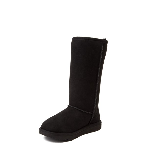 alternate view UGG® Classic Tall II Boot - Little Kid / Big Kid - BlackALT2