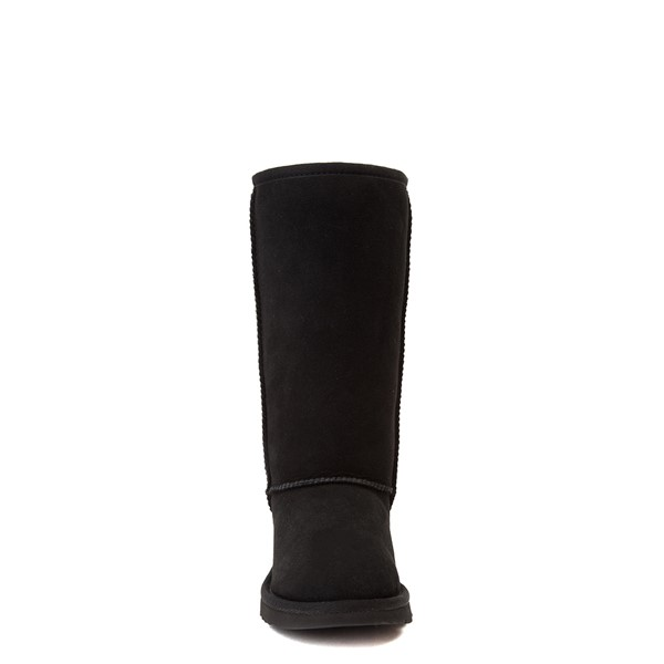 alternate view UGG® Classic Tall II Boot - Little Kid / Big Kid - BlackALT4