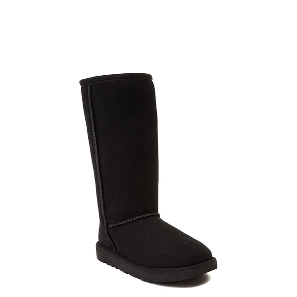 alternate view UGG® Classic Tall II Boot - Little Kid / Big Kid - BlackALT5