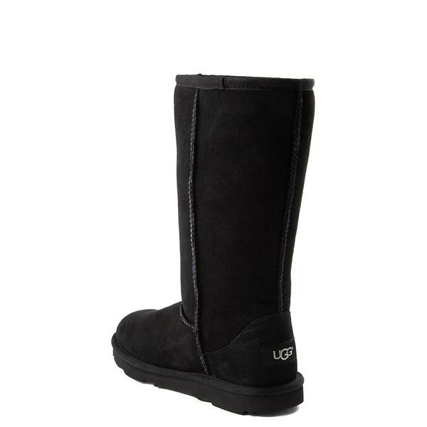 alternate view UGG® Classic Tall II Boot - Little Kid / Big Kid - BlackALT2