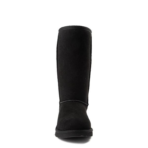 alternate view UGG® Classic Tall II Boot - Little Kid / Big Kid - BlackALT4